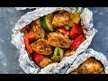 Foil pack cajun chicken and veggies mp3