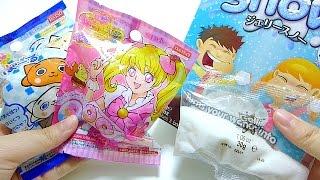 Daiso Bath Ball & Gelli Snow Fluffy Snow Making Powder