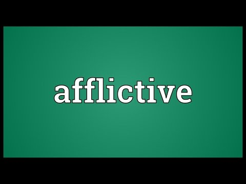 Header of afflictive
