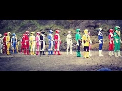 all power rangers team up morphs (dublado em português-brasil)