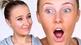 TRYING OUT $2 MAKEUP (Full Face) | Lauren Curtis