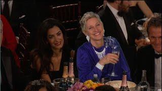 Ellen at the Golden Globes