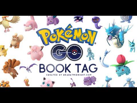POKEMON GO BOOK TAG!