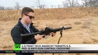 Print-a-Pistol: Home-made guns soon to be piece of cake with 3D printing?