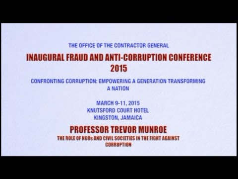 The Role of NGO's and Civil Society in the Fight Against Corruption
