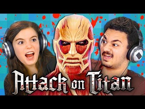 ATTACK ON TITAN GAME (Teens React: Gaming)