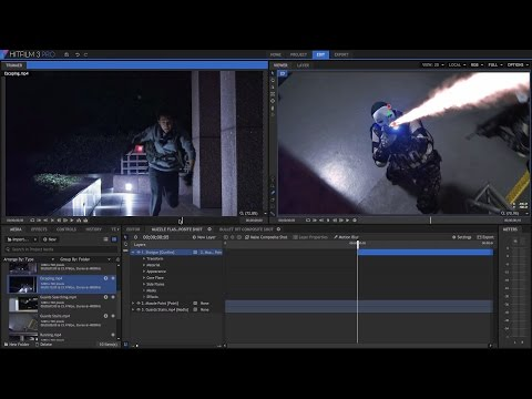 Project One - get started in HitFilm 3 Pro