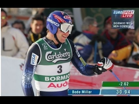 Bode Miller - Downhill Bormio 2005 Gold Medal World Championship