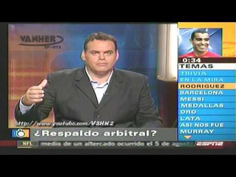 Salvador Nasralla vs chiki dracula marco rodriguez: Cronometro Faitelson y Jose Ramon