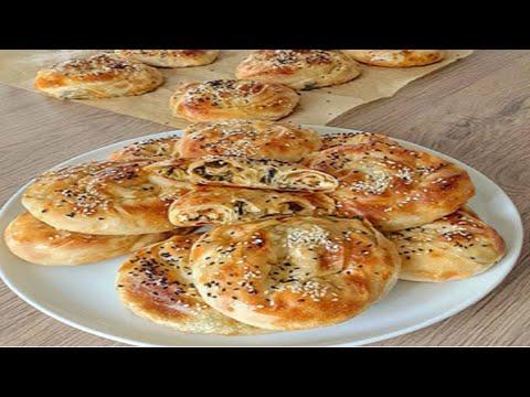 Ispanaklı Gül Böreği Tarifi Videosu - Börek Tarifleri