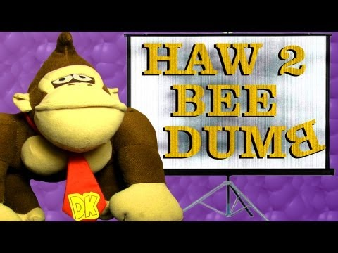Donkey Kong Presents: How to be Dumb