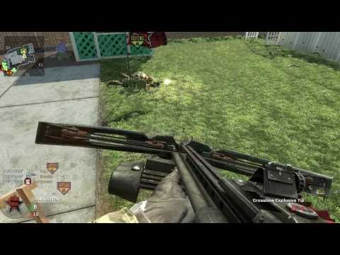 Call of Duty: Black Ops - Mid-air crossbow action