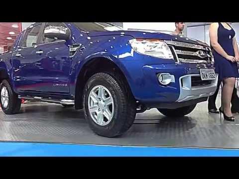 SHOWROOM 2013 Nova Ford Ranger Limited 4x4 3.2 @ Salão do Automóvel de Curitiba