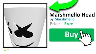 HOW TO GET THE MARSHMELLO HEAD IN ROBLOX!