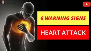 🚑 6 Warning Signs Before You Have A Heart Attack   Potential Life Savers