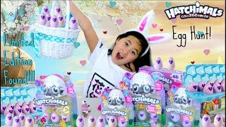 Hatchimals CollEGGtibles Giant Easter Egg Hunt Hatching Surprise Limited Edition Baby Animals