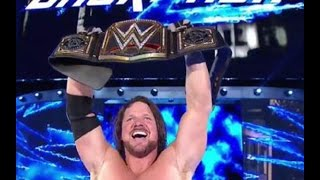 AJ Styles defeats Dean Ambrose win WWE Championship Backlash