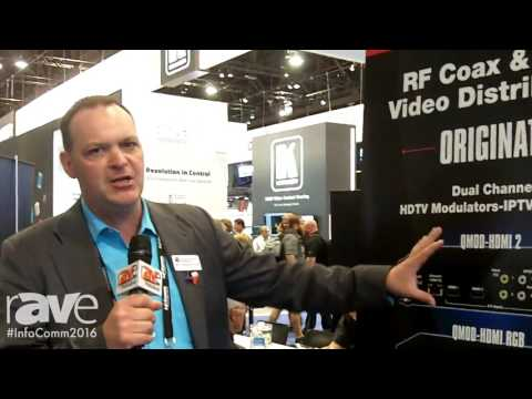 InfoComm 2016: Contemporary-Research Corporation Features New Modulators