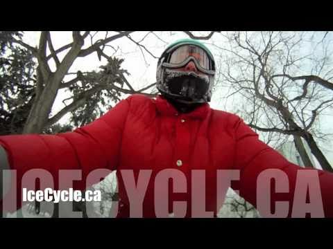 Saskatoon's Ice Cycle Bicycle Parade