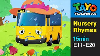 Tayo song Mary had a Little Lamb and More (15 mins) l Nursery Rhymes l Tayo the Little Bus