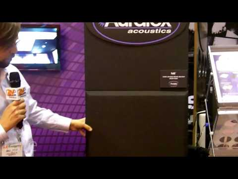 InfoComm 2013: Auralex Acoustics Displays Pro Panel