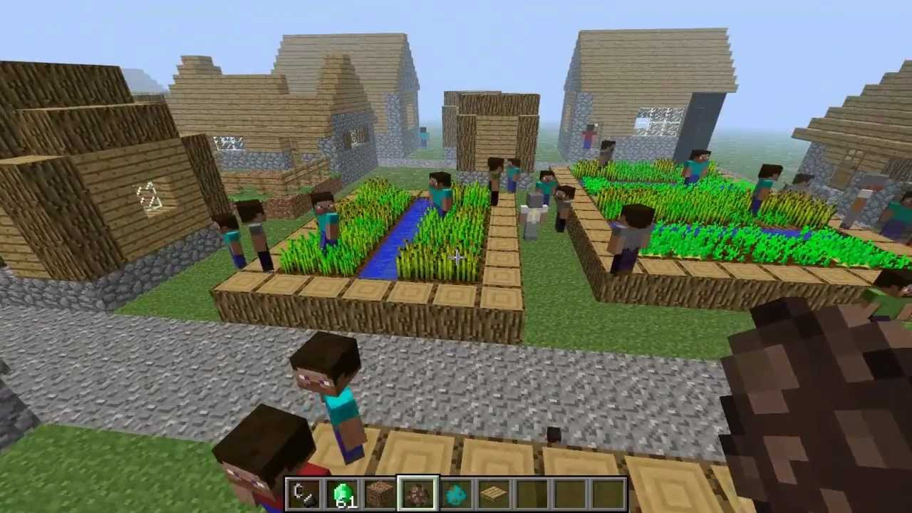 Steve Villagers 1 6 Easy Controls Minecraft Mods
