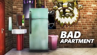 The Sims 4 Build | BAD APARTMENT