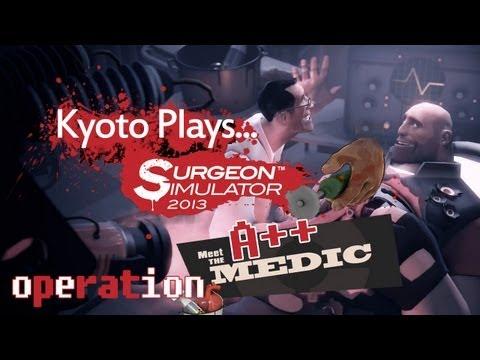 Surgeon Simulator 2013: TF2 Uber Heart Transplant A++