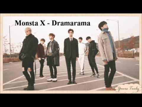 MONSTA X - DRAMARAMA (EASY LYRICS)