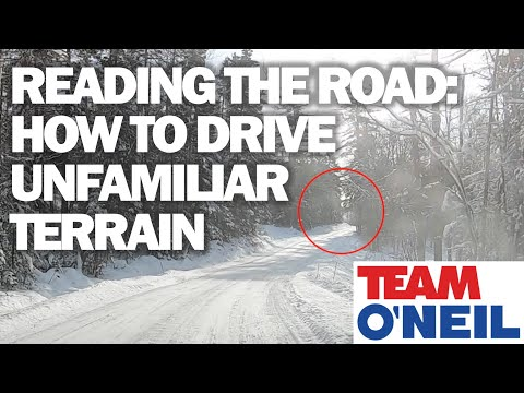 Reading the Road:  How to Drive Unfamiliar Terrain