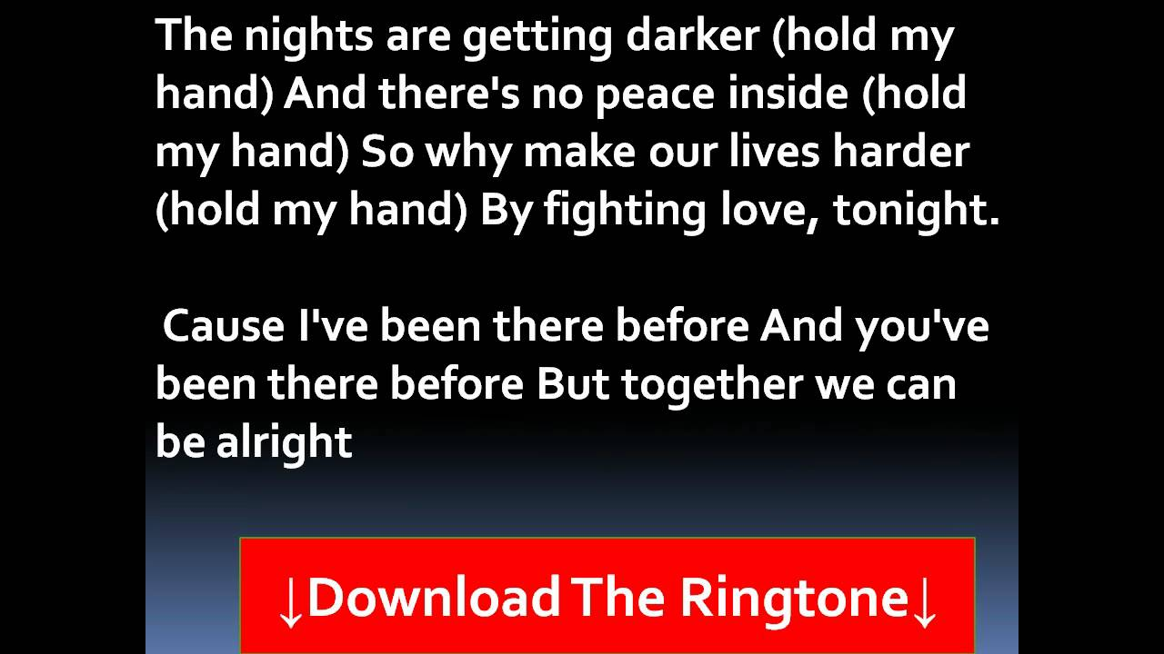 Akon - Hold My Hand Lyrics - YouTube