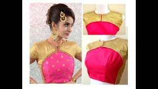 Download DIY Easy Making of Latest Designer Blouse | Cutting and Stitching | SIMPLE & EASY 3Gp Mp4