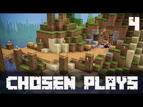 Chosen Plays Minecraft 1.13 Ep. 4 Enchantment Table Build