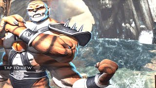 Mortal Kombat X (iOS) - Shokan Warrior Kintaro Challenge - Battles 1&2 (Normal Difficulty)