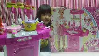 Mainan Masak masakan bisa Nyala dan bunyi buat anak perempuan