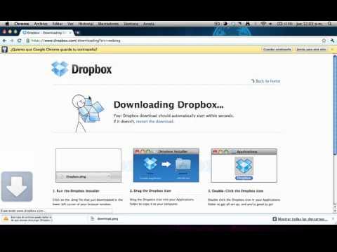 Como compartir archivos (Dropbox)