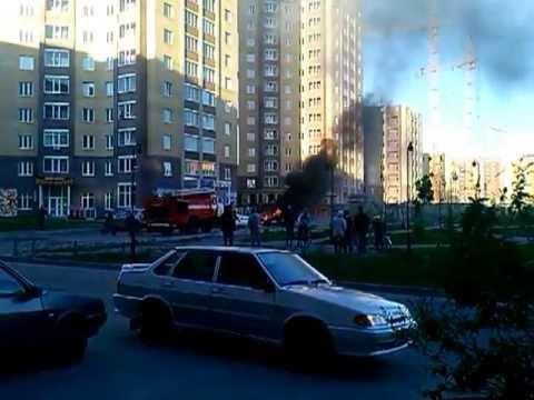 Взрыв авто в Тюмени 31.05.13