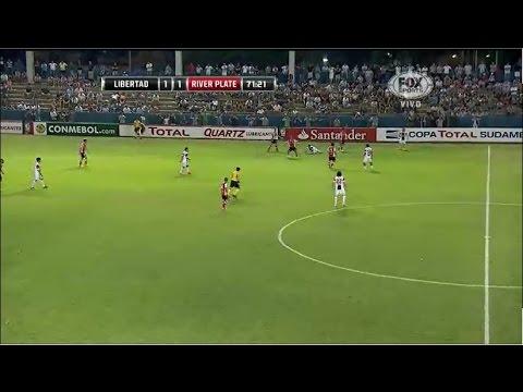 Libertad 1 - 3 River Plate Copa Sudamericana 2014