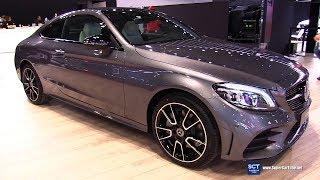 2019 Mercedes AMG C Class Coupe - Exterior and Interior Walkaround - 2018 New York Auto Show