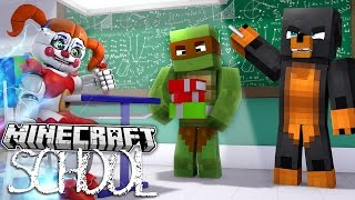 Minecraft SCHOOL - SUMMONING FNAF BABY TO THE SCHOOL - Donut the Dog Minecraft  Roleplay