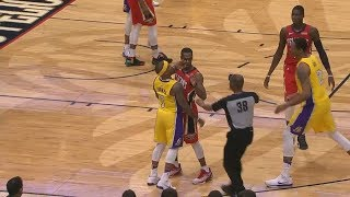 Isaiah Thomas And Rajon Rondo Both Ejected For Fighting! Lakers vs Pelicans!