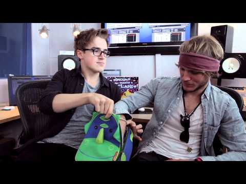 The Dinosaur That Pooped A Planet by Tom Fletcher and Dougie Poynter - Q&A part one.