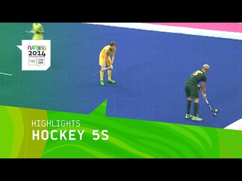 Men's And Women's Hockey 5s - Highlights | Nanjing 2014 Youth Olympic Games
