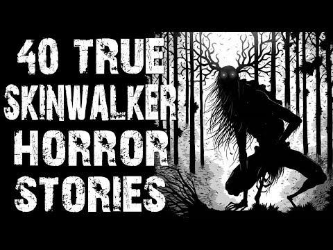 40 TRUE Terrifying Skinwalker & Deep Woods Horror Stories | MEGA COMPILATION | (Scary Stories)