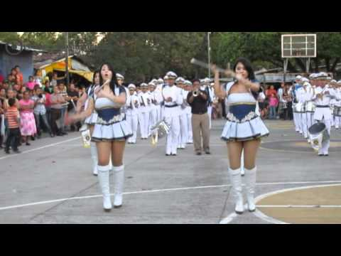 Desfile del Correo-Banda de Paz Bicentenario de San Salvador En El Rosario La Paz