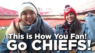 NFL Juniors This is How You Fan - KC Chiefs Style - Merrell Twins