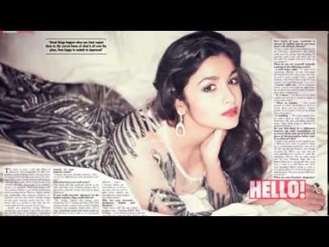 Alia Bhatt for HELLO! September