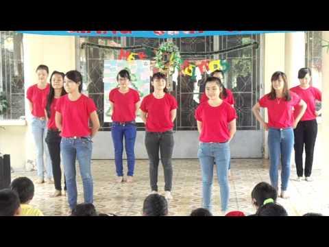 Chicken Dance+6 Bước Rửa Tay (giáng Sinh Hồng-ctxh Cofer) video