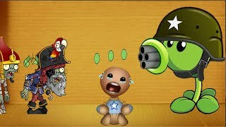 Plantus Zombie vs Baby Buddy Born | Kick The Buddy