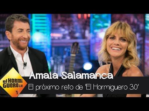 Amaia Salamanca propone un reto: